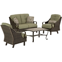 Ventura 4PC Seating Set in Vintage Meadow - VENTURA4PC