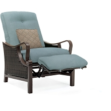 Ventura Luxury Recliner in Ocean Blue - VENTURAREC-BLU