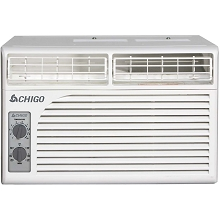 Chigo 5,400 BTU Window Air Conditioner with Mechanical Controls - WC1-05M2-01