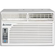 Chigo Energy Star 6,400 BTU Window Air Conditioner with MyTemp Remote Control - WC1-06E-01