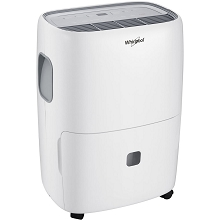 Whirlpool Energy Star 70-Pint Dehumidifier with Built-In Pump - WHAD703PAW