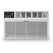 Whirlpool 12,000 BTU 230V Through-the-Wall Air Conditioner with 10,600 BTU Supplemental Heating, WHAT121-HAW