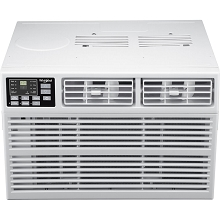 Whirlpool Energy Star 24,000 BTU 230V Window-Mounted Air Conditioner with Heat, WHHW242AW