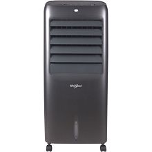 Whirlpool 214 CFM Indoor Evaporative Air Cooler with Remote Control and Ice Packs in Titanium - WPEC12RGT