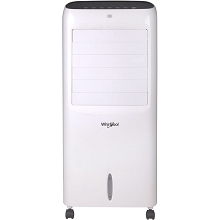 Whirlpool 214 CFM Indoor Evaporative Air Cooler with Remote Control and Ice Packs in White - WPEC12RGW