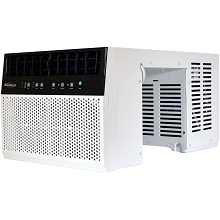 Soleus AC 8000 BTU Saddle Window Air Conditioner with Electronic Controls, WS3-08E-201