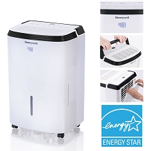 Honeywell Energy Star 50-Pint Dehumidifier with Washable Filter, TP50WK