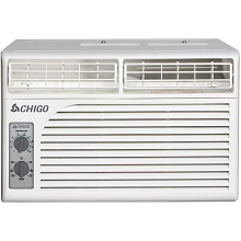 Chigo 5,100 BTU Window Air Conditioner with Mechanical Controls, WC1-05M2-02B