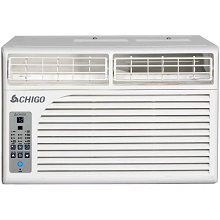 Chigo Energy Star 6,200 BTU Window Air Conditioner with MyTemp Remote Control, WC1-06E-02B