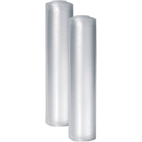 "Caso Design Professional 8"" x 20' Food Vacuum Rolls, Set of 2, 11221"