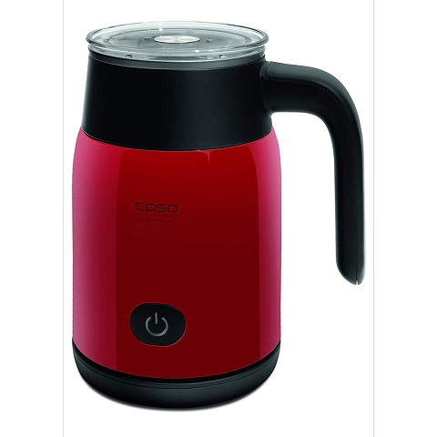 Caso Design Crema Magic Electric Milk Frother in Red, 11664