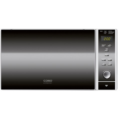 Caso Design M25 Large Capacity 0 9 Cu Ft 900w Microwave Oven In Stainless Steel 13020