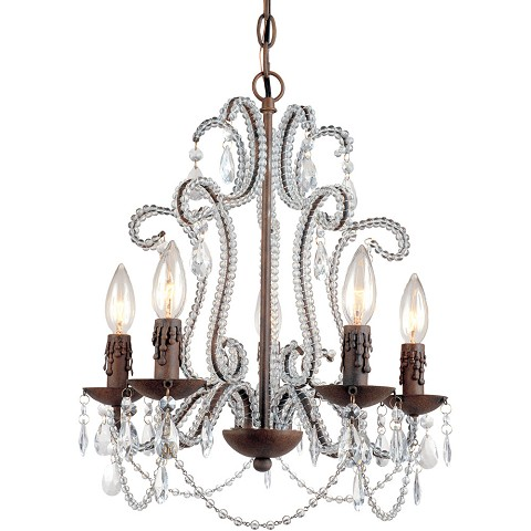 Beloved Five Light Mini Chandelier - 5195-5H