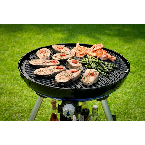 Cadac Carri Chef 2 Portable Grill with Pot Ring, BBQ Grill Plate, Chef Pan and RV Bracket - 8910-40/8910-109-US
