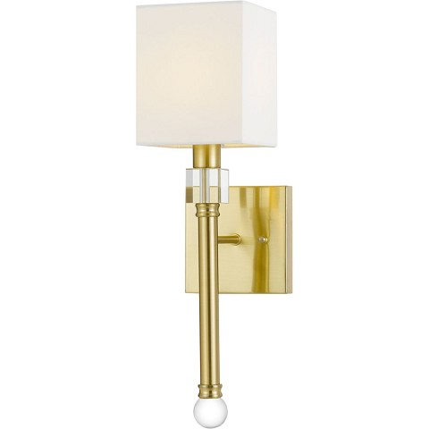 AF Lighting Sheridan Wall Sconce in Gold - 9138-1W