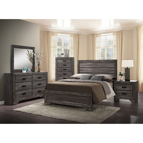 drexel king-size bedroom suite - 98116a5k1-wg