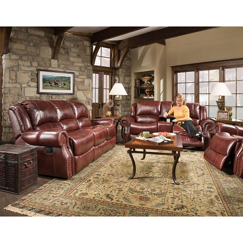 Cambridge Telluride 3 Piece Living Room Set Sofa Loveseat And Recliner 98528a3pc Ob