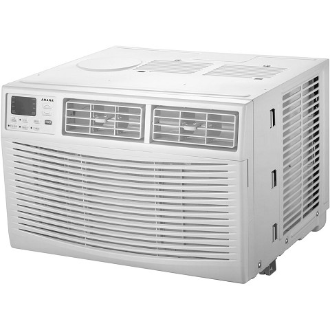 Amana Energy Star 12,000 BTU 115V Window-Mounted Air Conditioner with Remote Control - AMAP121BW