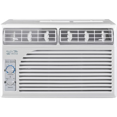 Arctic Wind 5,000 BTU 115V Window Air Conditioner with Mechanical Controls - AW5005M