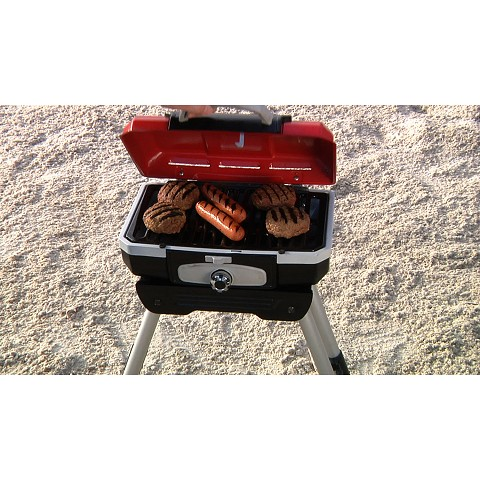 Cuisinart Petit Gourmet Portable Outdoor LP Gas Grill with VersaStand - CGG-180