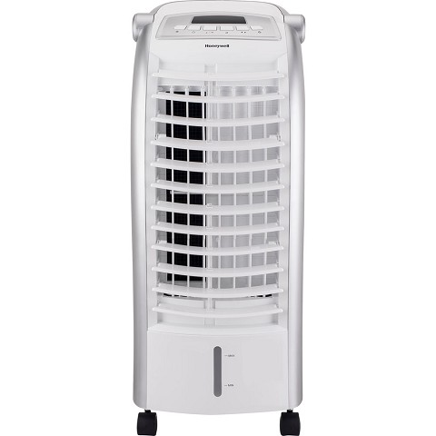Honeywell 200 CFM Indoor Portable Evaporative Cooler with Remote Control and Ice Pack