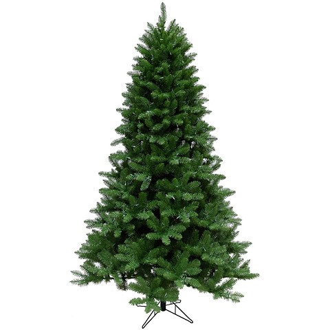 Christmas Time 6.5-Ft. Greenland Pine Artificial Christmas Tree with Clear LED String Lighting - CT-GT065-LED