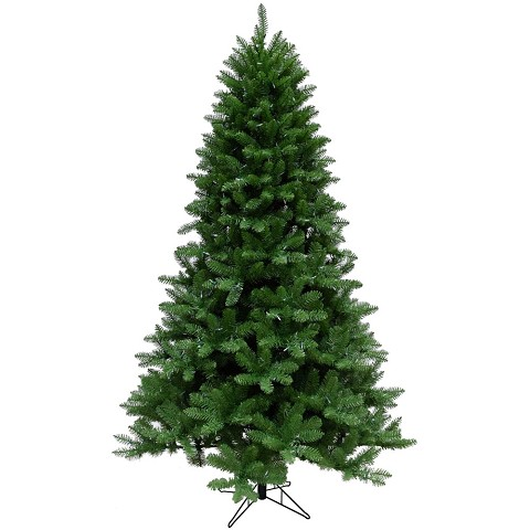 Christmas Time 6.5-Ft. Greenland Pine Artificial Christmas Tree with Clear Smart String Lighting - CT-GT065-SL