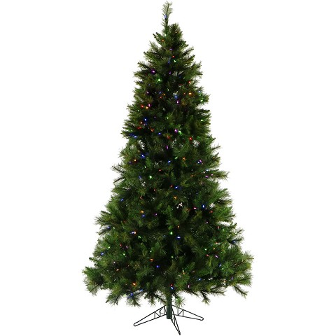 Christmas Time 6.5-Ft. Pennsylvania Pine Artificial Christmas Tree with Multi-Color LED String Lighting and Holiday Soundtrack - CT-PA065-ML