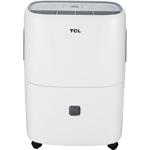 TCL High Efficiency 50-Pint Dehumidifier, DEA50E