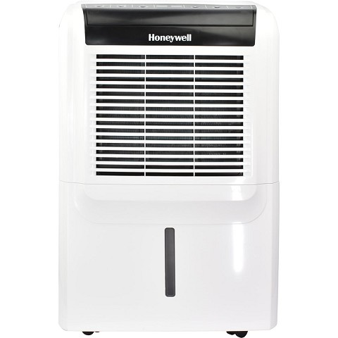 Honeywell 70-Pint Energy Star Dehumidifier with Built-In Drain Pump - DH70PW