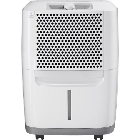 Frigidaire High Efficiency 30-Pint Portable Dehumidifier with SpaceWise Design for Effective and Efficient Moisture Control, FAD301NWD