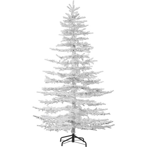 Fraser Hill Farm 7.5 Ft. Arctic Pine Artificial Christmas Tree - FFAP075-0SN
