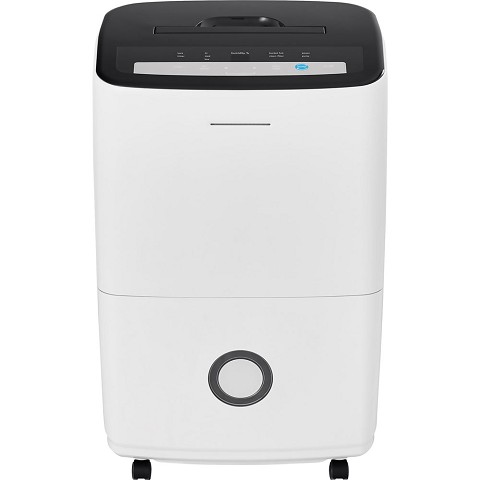 Frigidaire High Efficiency 70-Pint Dehumidifier with Built-in Pump in White, FFAP7033T1