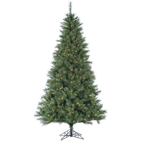 7.5 Ft. Canyon Pine Christmas Tree with Smart String Lighting - FFCM075-3GR