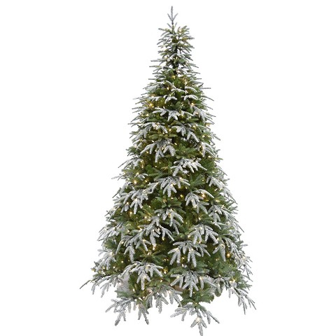 Fraser Hill Farm 9 Ft. Hunter Fir Artificial Christmas Tree with Smart String Lighting - FFHF090-3SN