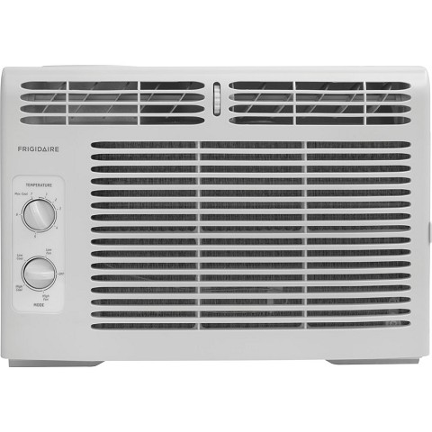 Frigidaire 5,000 BTU 115V Window-Mounted Mini-Compact Air Conditioner with Mechanical Controls, White - FFRA0511R1