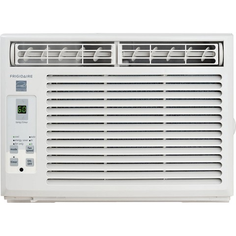 Frigidaire 5,000 BTU 115V Window-Mounted Mini-Compact Air Conditioner with Full-Function Remote Control, White - FFRE0533S1