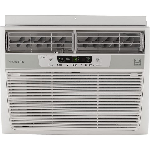 Frigidaire 12,000 BTU 115V Window-Mounted Compact Air Conditioner with Temperature Sensing Remote Control - FFRE1233S1