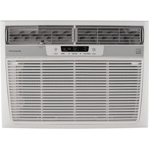 Frigidaire 15,000 BTU 115V Window-Mounted Median Air Conditioner with Temperature Sensing Remote Control - FFRE1533S1