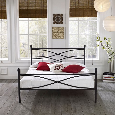 Soho Metal Full Platform Bed Frame - HBEDSOHO-FL