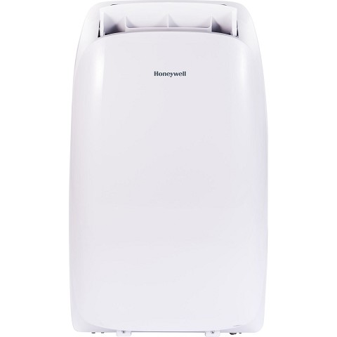 Portable Air Conditioner with Dehumidifier, Fan & Heater Cools Rooms Up To 700 Sq. Ft. with Remote Control (White) - HL14CHESWW