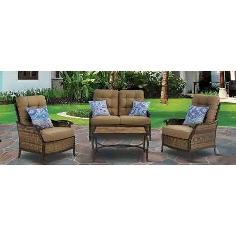 Hudson Square 4PC Seating Set - HUDSONSQ4PC