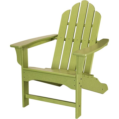 All-Weather Contoured Adirondack Chair in Lime