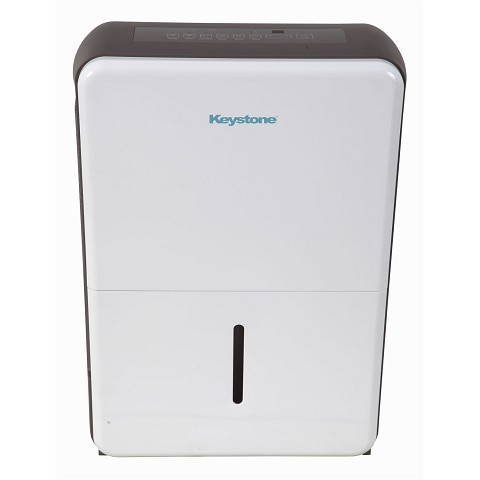 Keystone 50-Pint Dehumidifier in White/Gray, KSTAD507A