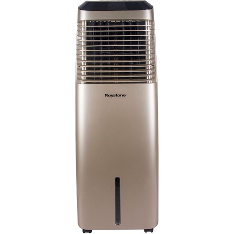Keystone 30-Liter Indoor Evaporative Air Cooler (Swamp Cooler) in Gold - KSTE9721004-GLD
