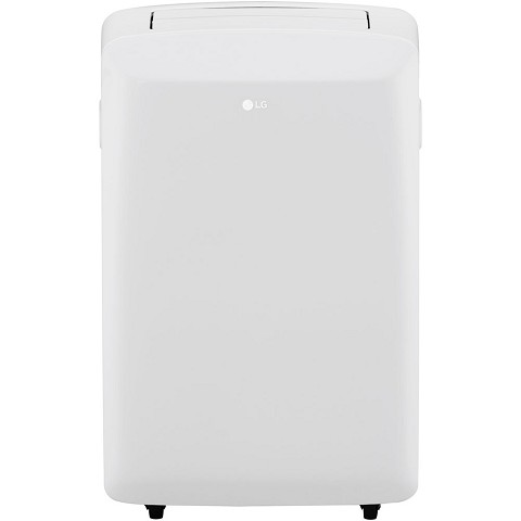 LG 115V Portable Air Conditioner with Remote Control in White for Rooms up to 150-Sq. Ft. - LP0817WSR