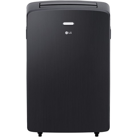 LG 115V Portable Air Conditioner with Remote Control in Graphite Gray for Rooms up to 300-Sq. Ft. - LP1217GSR