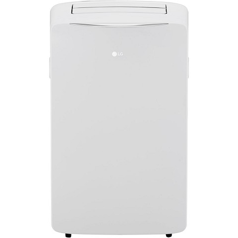 LG 115V Portable Air Conditioner with Wi-Fi Control in White for Rooms up to 400-Sq. Ft. - LP1417WSRSM