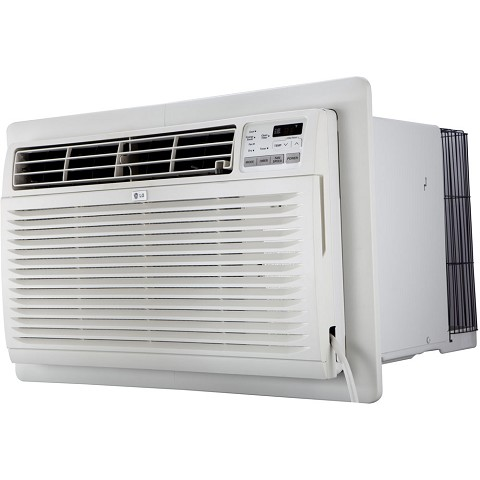 LG 9,500/9,800 BTU 230V Through-the-Wall Air Conditioner with Remote Control - LT1036CER