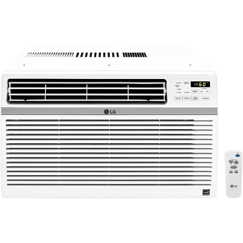 LG 15,000 BTU 115V Window-Mounted Air Conditioner with Remote Control, LW1516ER